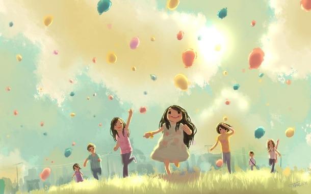 """""""Võimatu on olla masenduses, kui sul on õhupall!"""" Karupoeg Puhh"""